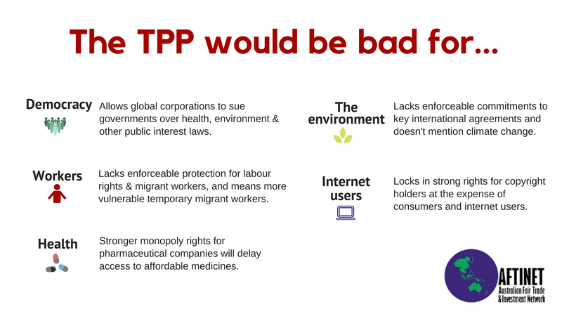 19c1c3c8ec9 You can write to the Trade Minister and urge him not to revive the zombie  TPP here. You can also download and share our A5 leaflet